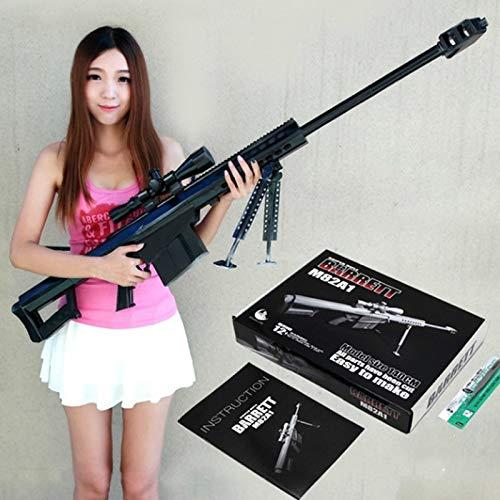 Preisvergleich Produktbild EisEyen 1:1 M82A1 Sniper Rifle Paper Model Gewehr Cosplay Spielzeug,  12.7 mm