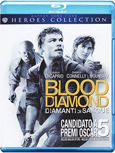 Blood diamond - Diamanti di sangue [Blu-ray] [IT Import] (Ronnie Coleman-dvd)