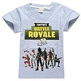 SERAPHY T-shirt en coton à manches courtes Fortnite T-shirts Enfants merveilleux cadeaux pour les garçons     Convient pour les garçons et les filles.   Beaux cadeaux pour les enfants, en particulier les fans de Fortnite.  Parfait pour le port déco...