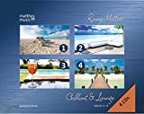 Chillout & Lounge (Vol. 1-4) - Gemafreie Hintergrundmusik (Jazz, Chillout, Ambient & Piano Lounge) 4 CD - Edition -