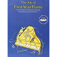 The Joy Of First-Year Piano (With CD): Noten, CD für Klavier