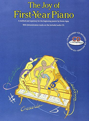 The Joy Of First-Year Piano (With CD) por Various