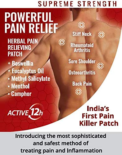 RELYONPAS+- PAIN RELIEF PATCHES Herbal Pain Relief Patch - Pack of 5 Patches