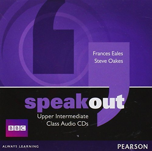 Speakout Upper Intermediate Class CD (x2) by Frances Eales (2011-03-10)