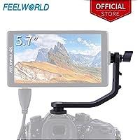 Feelworld Tilt Arm für F570 5,7 Zoll 4K HDMI auf Kamerafeld Monitor Halterung auf DSLR Stabilisator Gimbal Crane Rig