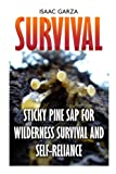 Survival: Sticky Pine Sap for Wilderness Survival and Self-reliance