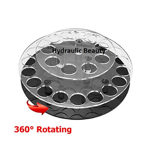 Acrylique rotatif Rouge à lèvres Cosmétique Organiseur