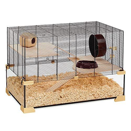 Cage en Verre pour Hamsters et Souris Ferplast Karat 80