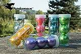 Chromax Metallic M1X Golf Balls - 3 Ball Pack