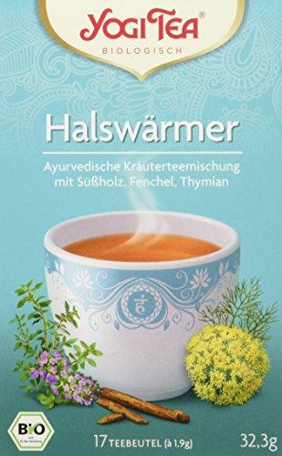 Yogi Tea Halswaermer Tee Bio, 3er Pack (3 x 32,3 g)