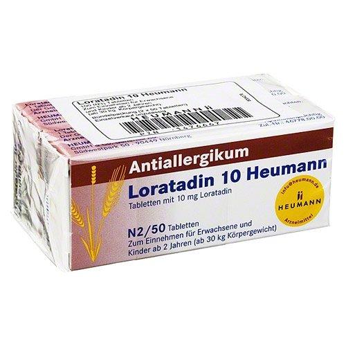 Loratadin 10 Heumann Tabletten, 100 St