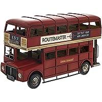 Lesser & Pavey Coleccionable London Transport Red Lata Doble Decker London Bus - Vintage Transport Collection