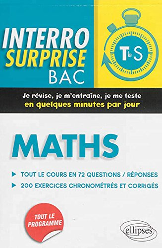 Interro Surprise Bac Maths Terminale S