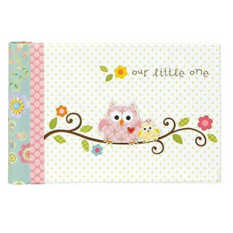 CR Gibson Grandma's Brag/Boast Book/Baby Photo Album -- Newborn Baby Gift Set / Keepsake / Memory Book / Baby Journal (Happi Baby