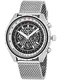 Burgmeister Armbanduhr für Herren mit Analog Anzeige, Automatik-Uhr mit Edelstahl Armband - Wasserdichte Herrenuhr mit zeitlosem, schickem Design - klassische Uhr für Männer - BM353-121 Tacoma