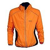 LUFA Hommes/Femmes Sport Coupe-Vent imperméable Respirant Zipper Riding Course Manteau de Veste