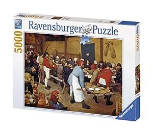 Ravensburger - 17425 - Puzzle - Brueghel, le repas de noce - 5000 Pièces