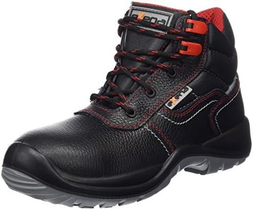Exena Sardeña - Calzado de protección laboral, talla 38, color negro