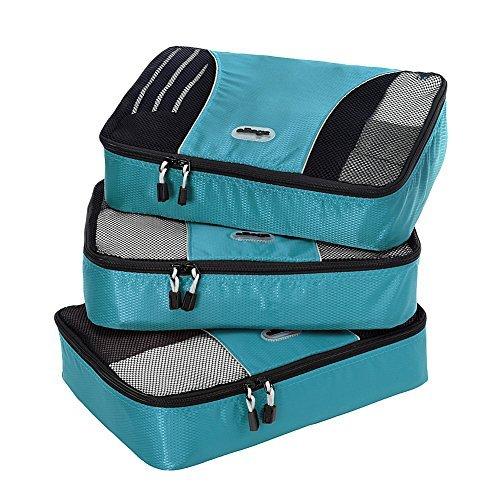 eBags Bolsa de cubos de embalaje mediano - conjunto de 3 piezas Medio