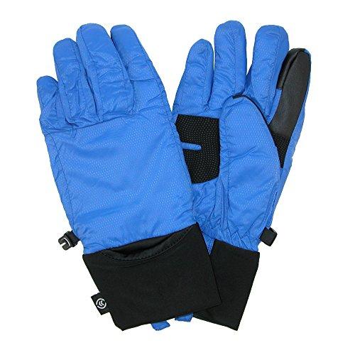 Isotoner Nylon-handschuhe (Isotoner Damen Handschuhe Gr. M, Blue Spark)