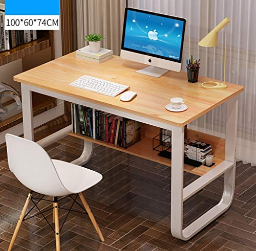 Computertische Computertisch, einfacher moderner Büroarbeitsplatz PC-Laptop, der Schreibtisch mit den festen U-förmigen Beinen des Metalls für Innenministerium lernt Computerschränke ( Farbe : C ) - , U-förmigen Schreibtisch