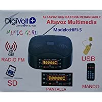 JPWOnline - Altavoz Multimedia Digivolt HIFI-5