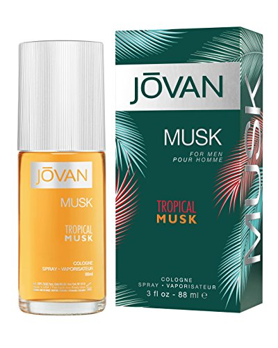 Jovan Tropical Musk Eau de Cologne für Herren, 88 ml -