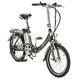 aktivelo Alu-Elektro-Faltrad »Sport«, 20 Zoll, 6-Gang E-Bike Elektrofahrrad Pedelec Fahrrad