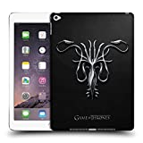 Head Case Designs Offizielle HBO Game of Thrones Silber Greyjoy Embossed Sigils Ruckseite Hülle für iPad Air 2 (2014)