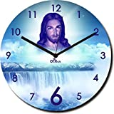 2 O Clock Jesus Christ Printed Analog Wa...