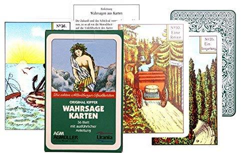 Alterras - Karten: Original Kipper Wahrsage Karten Verkaufskarton