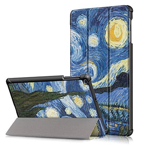 cover per tablet samsung tab a Fmway Cover Custodia per Samsung Galaxy Tab A 10.1 Pollice (T510/T515) 2019 con Funzione di Stand