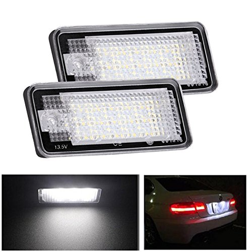 2-Pack Lampade Targa A LED Plus Etc, Luce Bianca Diurna