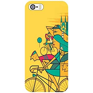 Printland Apple iPhone 5S Back Cover High Quality Designer Case
