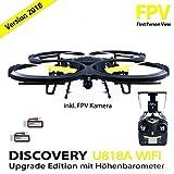 Quadcopter UDI U818A Verbesserte WiFi FPV Drohne mit 2MP HD Kamera App Steuern RC Quadrocopter Kopflosmodus Drone
