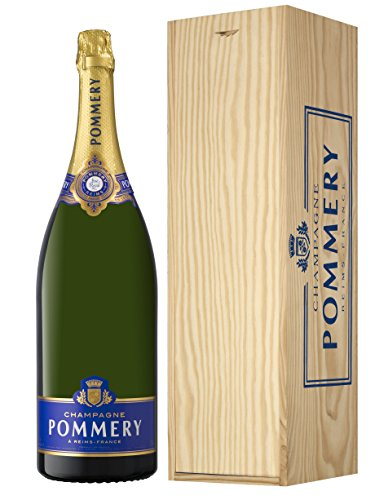 Champagne Pommery Brut Royal Jéroboam in Holzkiste (1 x 3 l)