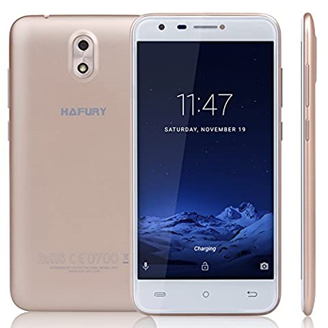 Cubot HAFURY MIX (2017) Android 7.0 Nougat Smartphone ohne Vertrag