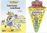 Carlsen Verlag GmbH Conni kommt in die Schule (Neuausgabe) (Conni-Bilderbücher) Gebundene Ausgabe und Mitmach-Spaß zum Schulanfang (Conni Gelbe Reihe) Taschenbuch