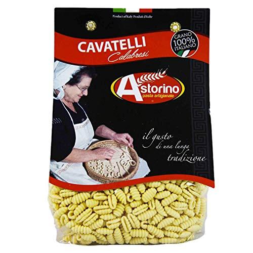 Cavatelli Calabresi: Handgemachte Nudeln aus Kalabrien (Hartweizen) Astorino 6 Packungen Nudeln 500gr. In Kalabrien mit italienischen Weizen hergestellt.