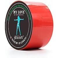 Bondage Tape Red 15 m - Cinta bondage de color rojo de 15 metros de longitud - Lovelyplay