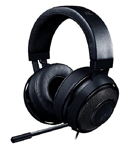Razer Kraken Pro V2 Analoges Gaming-Headset für PC, Xbox One und Playstation 4, schwarz 3.5mm Synapse Audio