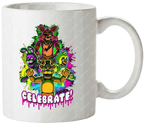 Celebrate Five Nights At Freddys Fnaf Personalized Coffee Cups Tea Mug