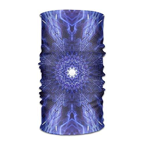 VTXWL Blue Ancient Art Headwear Bandanas Seamless Men Women Headwear 12-in-1 Stretchable Magic Scarf Balaclava