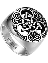 a25a85bb70ef Amazon.es  Amuletos - Anillos   Hombre  Joyería