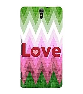 EPICCASE love Mobile Back Case Cover For Sony Xperia C5 (Designer Case)