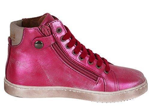 Bisgaard 31807216, Sneakers Hautes Mixte Enfant Rot-Metallic (906 Red)