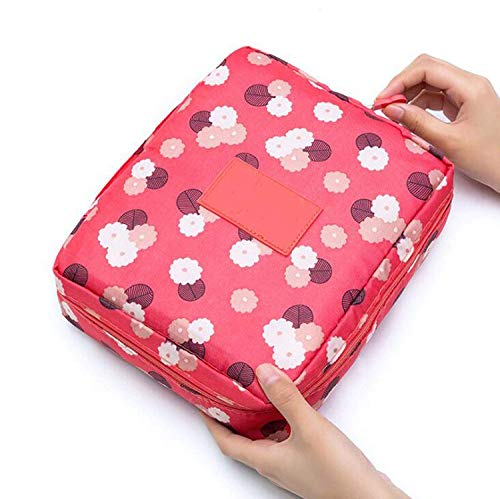 ShuuHaYi Zipper Makeup Bag Cosmetic Bag Women Waterproof Wash Bag Multifunction Organizer For Toiletry Kit,Onesize,No.9