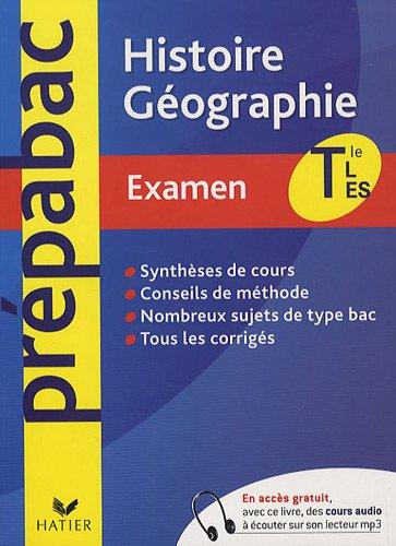 Histoire-Géographie Tles L, ES