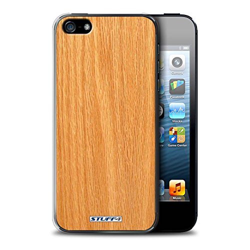Stuff4 Hülle / Hülle für Apple iPhone 5C / Nussbaum Muster / Holz/Holzmaserung Muster Kollektion Kiefer
