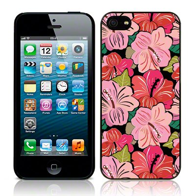 Call Candy Coque arrière pour Apple iPhone 5/5S/5C/SE image Pretty In Pink–Rose/Rouge/Vert Image
